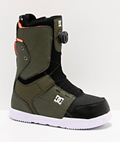 DC Scout Boa Olive & Black Snowboard Boots 2020