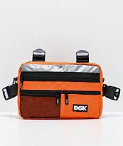 DGK Hazardous bolso de pecho naranja