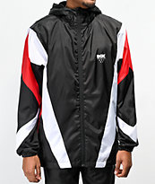 DGK Mirage Black, Red & White Windbreaker Jacket