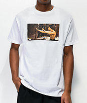 DGK x Bruce Lee Nunchucks White T-Shirt