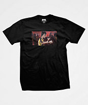DGK x Bruce Lee Warrior Black T-Shirt