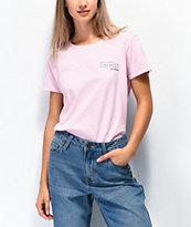 Daisy Street I Like You Text Pink T-Shirt