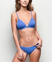 Damsel Forget Me Not braguitas de bikini brasileñas azules