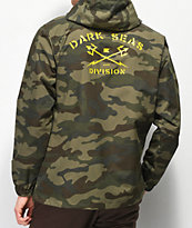 Dark Seas Defender Camo Anorak Jacket