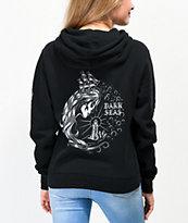 Dark Seas Enchantress sudadera con capucha negra