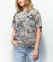 Desert Dreamer x The Powerpuff Girls Rainwash Grey Pocket T-Shirt