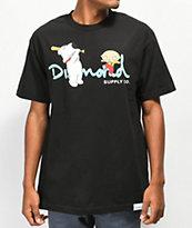 Diamond Supply Co. x Family Guy OG Script Black T-Shirt