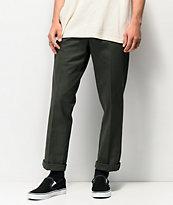 Dickies '67 Slim Fit pantalones verdes de trabajo