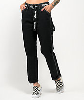 Dickies Belted Black Carpenter Pants