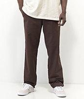 Dickies Flex Chocolate Slim Chino Work Pants