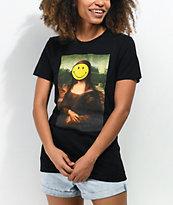 Eleven Paris x Smiley Mona Lisa Black T-Shirt
