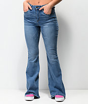 Empyre Carly Medium Washed Flare Jeans