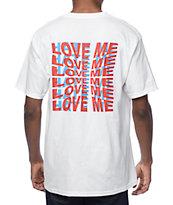 Empyre Love Me-Hate Me camiseta blanca