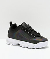 FILA Disruptor II Phase Shift zapatos negros