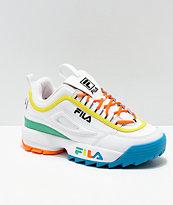 FILA Disruptor zapatos multicolor y blancos