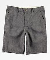 Free World Discord shorts chinos en gris oscuro