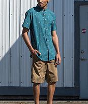Free World Walker Dark Khaki Chino Shorts