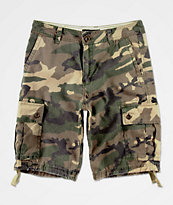 Free World Wreckage shorts de camuflaje