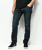 Freeworld Night Train jeans con lavado oscuro