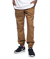 Freeworld Remy pantalones jogger en color tabaco