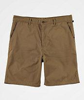 Freeworld Walker shorts chinos en caqui claro