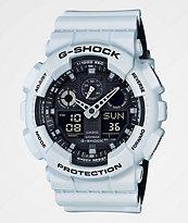 G-Shock GA100L-7A Military White Layered Watch