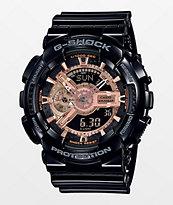 G-Shock GA110 reloj de oro rosa y negro