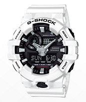 G-Shock GA700-7A reloj en blanco y negro