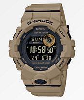 G-Shock GBD800 reloj digital caqui oscuro y negro
