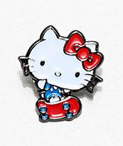 Girl x Hello Kitty 45th Anniversary Enamel Pin