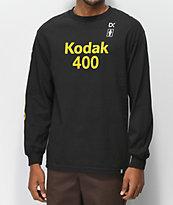 Girl x Kodak Gold 400 Black Long Sleeve T-Shirt