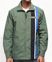 Gnarly Warp Forest Green Jacket