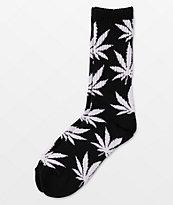 HUF Plantlife Black & White Crew Socks