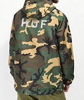 HUF Standard Camo Windbreaker Jacket