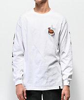 HUF x Popeye Wimpy White Long Sleeve T-Shirt