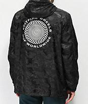 HUF x Spitfire Black Anorak Jacket