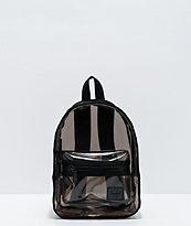 Herschel Supply Co. Classic Smoke Black Clear Mini Backpack