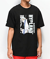 Hypeland x Bleach Toshiro camiseta negra