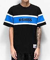 K-Swiss Ace Graphic camiseta negra y azul