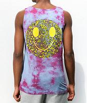 Killer Acid Miles Of Smiles Purple Tie Dye Tank Top