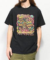 Killer Acid Prevent Bad Vibes Black T-Shirt