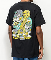Killer Acid Rise & Shine camiseta negra