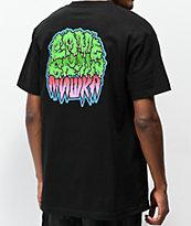 Lamebrain x Mishka camiseta negra