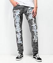 Levi's Lo-Ball Stack Scratch jeans de mezclilla negra