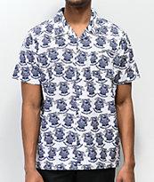 Loser Machine x PBR White Short Sleeve Button Up Shirt