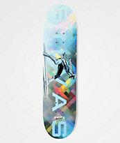 "Marvel x Moebius by Primitive Silvas Silver Surfer 8.38"" Skateboard Deck"