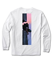 Marvel x Moebius by Primitive Spider Man White Long Sleeve T-Shirt