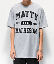Matty Matheson Team Matty Heather Grey T-Shirt