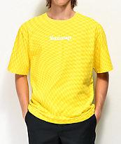 Moodswings Chess Checkered camiseta amarilla