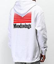 Moodswings Ms. Quantum Leap sudadera con capucha blanca